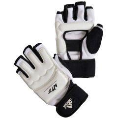 Перчатки для тхэквондо Adidas WTF Fighter Gloves белые