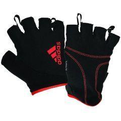 Перчатки для фитнеса Adidas Essential Gloves черно-красные