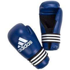 Перчатки полуконтакт Adidas Semi Contact Gloves синие