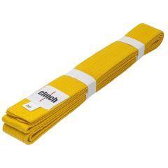 Пояс для единоборств Clinch Budo Belt желтый