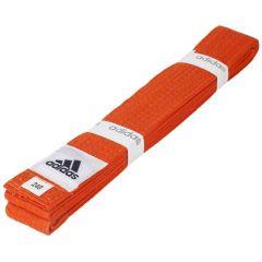 Пояс для единоборств Adidas Club оранжевый