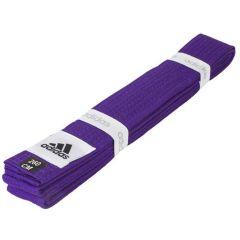 Пояс для единоборств Adidas Club фиолетовый