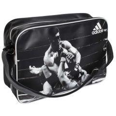 Сумка спортивная Adidas Sports Bag MMA L черно-белая