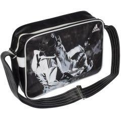 Сумка спортивная Adidas Sports Bag Taekwondo S черно-белая
