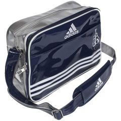 Сумка спортивная Adidas Sports Carry Bag Boxing S сине-серебристо-белая