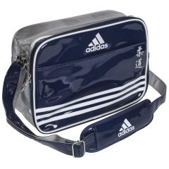 Сумка спортивная Adidas Sports Carry Bag Judo S сине-серебристо-белая