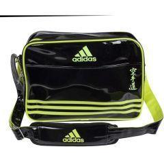 Сумка спортивная Adidas Sports Carry Bag Karate L черно-желтая
