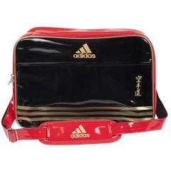 Сумка спортивная Adidas Sports Carry Bag Karate L черно-красно-золотая