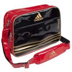 Сумка спортивная Adidas Sports Carry Bag Karate S черно-красно-золотая