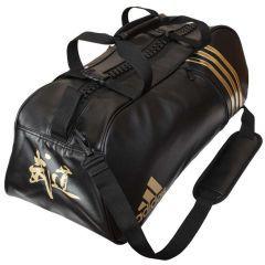 Сумка спортивная Adidas Super Sport Bag Budo M черно-золотая