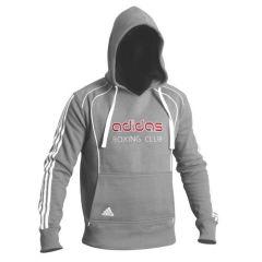 Толстовка с капюшоном (Худи) Adidas Hoody Sweat Boxing Club серая