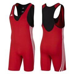 Трико борцовское Adidas Base Wrestler красное