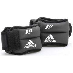 Утяжелители 1.0 кг Adidas Ankle/Wrist Weights черно-красные