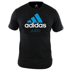Футболка Adidas Community T-Shirt Judo черно-синяя