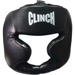 Шлем боксерский Clinch Full Face PU Flex черный