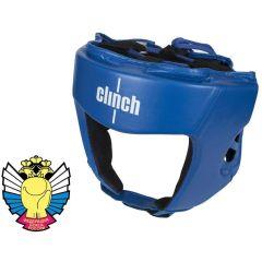 Шлем боксерский Clinch Olimp синий