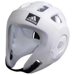 Шлем для единоборств Adidas Adizero (одобрен WAKO и WTF) белый