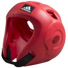 Шлем для единоборств Adidas Adizero (одобрен WAKO и WTF) красный