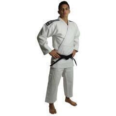 Кимоно для дзюдо подростковое Adidas Champion 2 IJF Slim Fit белое