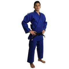 Кимоно для дзюдо подростковое Adidas Champion 2 IJF Slim Fit синее