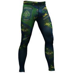 Компрессионные штаны Absolute Weapon green
