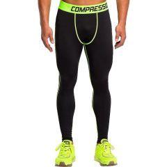 Компрессионные штаны Vansydical black - yellow