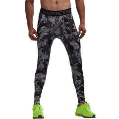 Компрессионные штаны Vansydical CAMOUFLAGE MESH