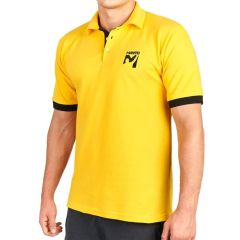 Футболка-поло Manto Victory yellow