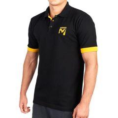 Футболка-поло Manto Victory black - yellow