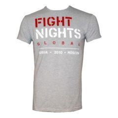 Футболка Fight Nights Global gray