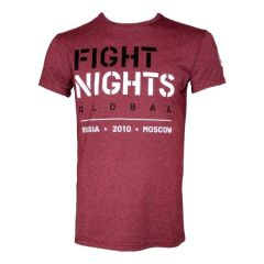 Футболка Fight Nights Global red