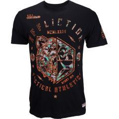 Футболка Affliction Grizzly Sport black