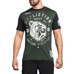 Футболка Affliction Grizzly Sport green