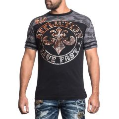 Футболка Affliction Divio Varnish