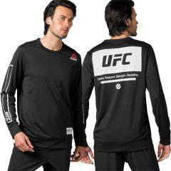 Лонгслив Reebok UFC Fan Mesh black