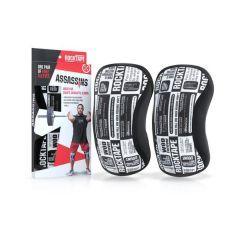 Наколенники RockTape Assassins Knee Sleeves Manifesto 5 мм - 2 шт.