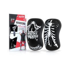Наколенники RockTape Assassins Knee Sleeves Skull 7 мм - 2 шт.