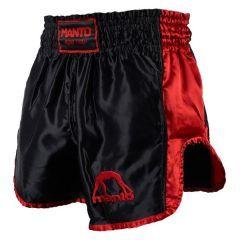 Шорты для тайского бокса Manto Vibe black - red