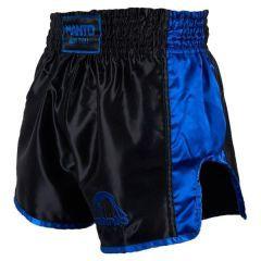 Шорты для тайского бокса Manto Vibe black - blue