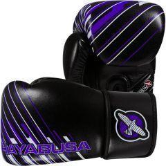 Боксерские перчатки Hayabusa Ikusa Charged black - purple