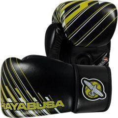 Боксерские перчатки Hayabusa Ikusa Charged black - yellow