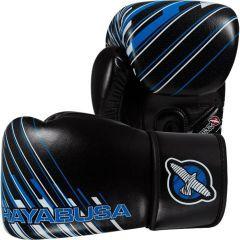 Боксерские перчатки Hayabusa Ikusa Charged black - blue