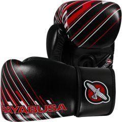 Боксерские перчатки Hayabusa Ikusa Charged black - red