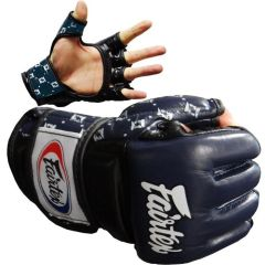 МMA перчатки Fairtex FGV17 navy - black