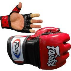 МMA перчатки Fairtex FGV17 red - black