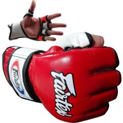 МMA перчатки Fairtex FGV13 red - white