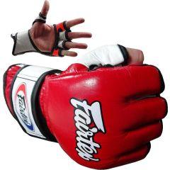 МMA перчатки Fairtex FGV13 red - white