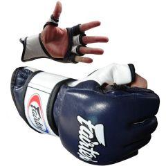 МMA перчатки Fairtex FGV13 navy - white