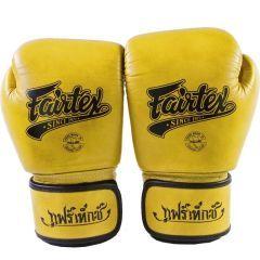 Боксерские перчатки Fairtex Classic gold