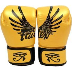 Боксерские перчатки Fairtex Falcon gold